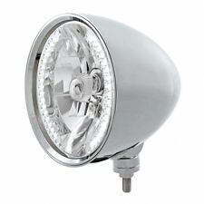 "UNITED PACIFIC 32554 - ""CHOPPER"" Headlight - 34 White LED H4 Bulb"