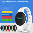 Heart Rate Monitor Bluetooth Pedometer Smart Watch Wrist For Android iOS Iphone