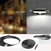 30 LED Solar Power Fence Motion Sensor Light Wall Door Step Outdoor Garden Lamp