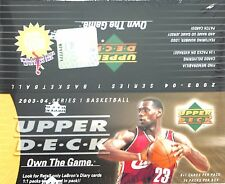 2003-04 Upper Deck Basketball Sealed Retail Box