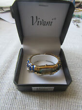 VIVANI, Women's Watch, Gold and Blue colored, New in Box