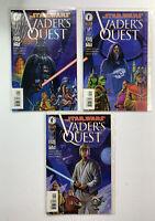 STAR WARS VADER'S QUEST Comics 1, 2 & 4 of 4 Comics Sealed