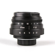 25mm F/1.8 C mount CCTV lens for APS-C sensor camera Sony NEX Micro 4/3 FX N1