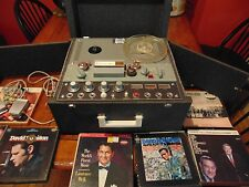 Vintage Electra FC-108 Tube Type Reel to Reel Tape Player & recorder- super mint