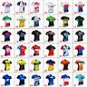 Cycling Jersey MenTeam Cycling Short Sleeve Jerseys Bicycle Racing Shirt Pocket