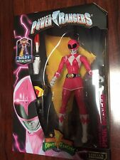 MIGHTY MORPHIN' PINK POWER RANGERS LEGACY 6 inch Action Figure W/ BAF MEGAZORD
