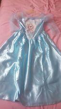 robe reine des neiges 7/ 8 ans