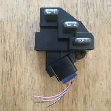 1998-2005 Lexus GS300 Left Driver Side Seat Memory Switch Control Panel (Grey)
