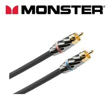 MONSTER Silver Ultra High Performance Stereo Audio Cable RCA connectors - 3 m