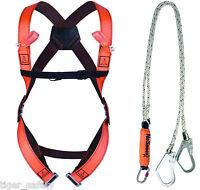 Delta Plus Froment ELARA280 Scaffold Fall Arrest Kit Harness Rope Fixing Hooks