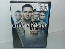 UFC Presents: Championship Stories (DVD, Region 1, 2015, 2-Disc Set) NEW  No Tax