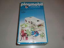 Playmobil 3249 Klicky Wohnwagen mit Vorzelt Caravan Reisen Freizeit in Ovp