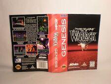 Warlock -Sega Genesis art work Only!  *Original art work*