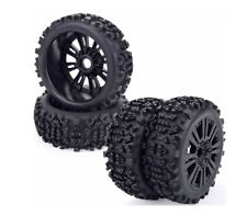 Rc Short Course Badlands Wheels Tires Set For Arrma Senton