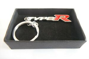 Type R White Red Keyring Gift Boxed
