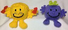 KNITTING PATTERN -Little Miss Sunshine & Naughty inspired choc orange cover /toy