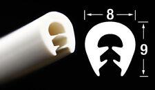 KS-TPE0-2,5W Kantenschutz Klemmprofil U Profil Maße 0-2,5 mm weiß TPE