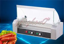 220v 1kw Commercial 5 Roller Hot Dog Grill Cooker Machine
