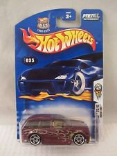 Hot Wheels  1st Editions  2003-035  Boom Box  Dk Red  NOC 1:64 scale (417) 56391