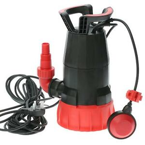 Electric Submersible Pump for Clean or Dirty Water - Flood Pool Garden Well Pond