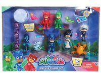 "PJ Masks Collectible Figure Set 3"" Catboy Owlette Gekko Luna Girl Romeo Action"