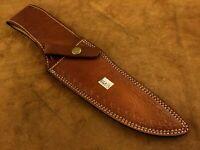 Handmade Leather Sheath for Custom Knife-Knife Sheath-Well Stitched- BGS13