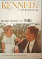 Kennedy and his family in pictures, by the editors of Look Magazine 1963 JFK