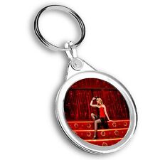 Keyring Circle - Cabaret Dancer Stage Show Girl  #44494