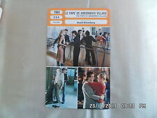CARTE FICHE CINEMA 1984 LE PAPE DE GREENWICH VILLAGE Mickey Rourke Eric Roberts