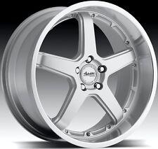 20x9.5 Advanti Racing Traktion 5x114.3 ET25 Silver Rims Wheels