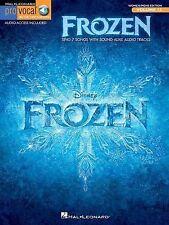 NEW - Frozen - Pro Vocal for Women/Men Volume 12 (Songbook & Online Audio)