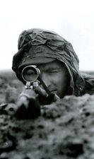 WW2 Photo German Sniper Bruno Sutkus WWII Germany Wehrmacht World War Two
