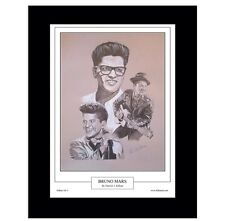 Bruno Mars Limited Edition Fine Art Print By Patrick J. Killian