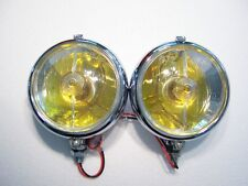 MARCHAL 672/682 FOG LIGHTS (2) (NEW)(AMBER BULBS)12 volt
