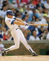 1990s Chicago Cubs RYNE SANDBERG Glossy 8x10 Photo Baseball Swing Print