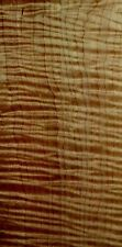 AMAZING BOARD!!!!!!!! RARE HEAVY TIGHT FIGURE!! QUILTED CURLY TIGER MAPLE LUMBER