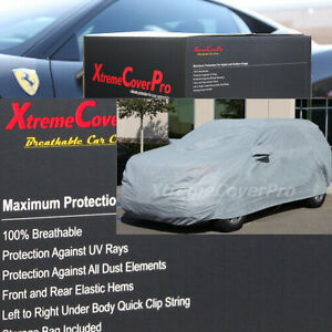 2015 BUICK ENCLAVE Breathable Car Cover w/Mirror Pockets - Gray
