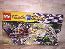 LEGO WORLD RACERS SET 8899 GATOR SWAMP 354 PC