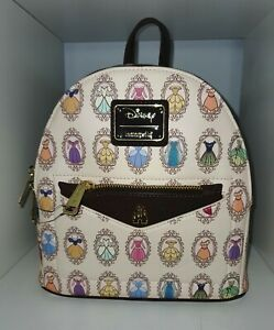 Loungefly Disney PRINCESS FRAMES Mini Backpack RARE Exceptional Placement BNWT