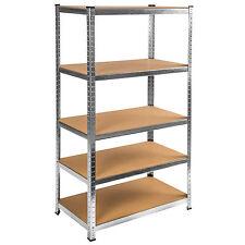 Étagère 1320kg charge lourde metallique de rangement objets atelier 180x90x45