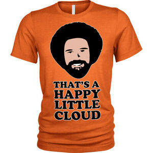 That's a Happy Little Cloud T-Shirt weed funny cannabis smoke high Lion T-Shirt