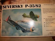 Williams Bros. Seversky P-35/S2 1/32 scale
