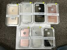 PureGear GlassBak 360 Metal Bumper and Glass iPhone 6/6S/7/8 AND 6+/6S+/7+/8+