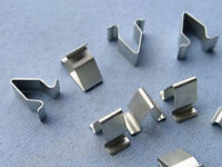 (2360/ 321) 15x Blech Klemme Metall Halterklammern Steckklammer für Audi Skoda