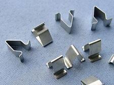 (2360) 15x Blech Klemme Metall Halterklammern Steckklammer für Audi Seat Skoda