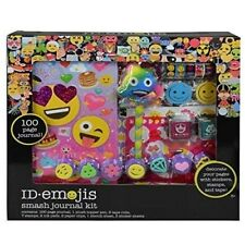 ID emojis Smash Journal Kit Box Set Stamps Ink Pads Stickers Topper Pen Stencil