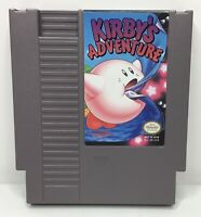 Nintendo NES Kirby's Adventure Video Game Cartridge *Authentic/Cleaned/Tested*
