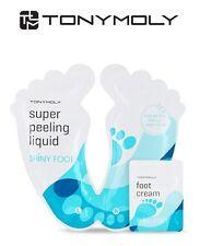 Tony Moly Super Peeling Liquid Shiny Foot Mask -1 pair (dead skin cell removal)