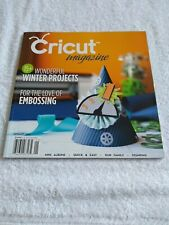 Cricut Magazine January 2012 Wonderful Winter Projects Embossing Stamping Albums