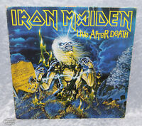 Iron Maiden Live after Death 1985 EMI 162 2404263 Doppel Cover 2 LP Vinyl